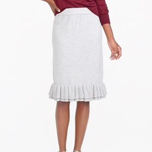 MWT J CREW sweater skirt